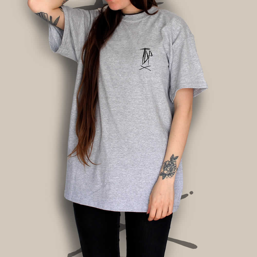 TDP Clothing Essential T-Shirt Logo Grey
