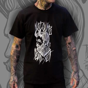 TDP Clothing Tattooed Gentleman Black T-Shirt