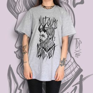 TDP Clothing Tattooed Gentleman Grey T-Shirt