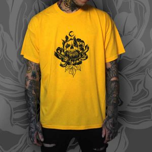 TDP Clothing Yellow T-Shirt Dead Crysanthemum Male