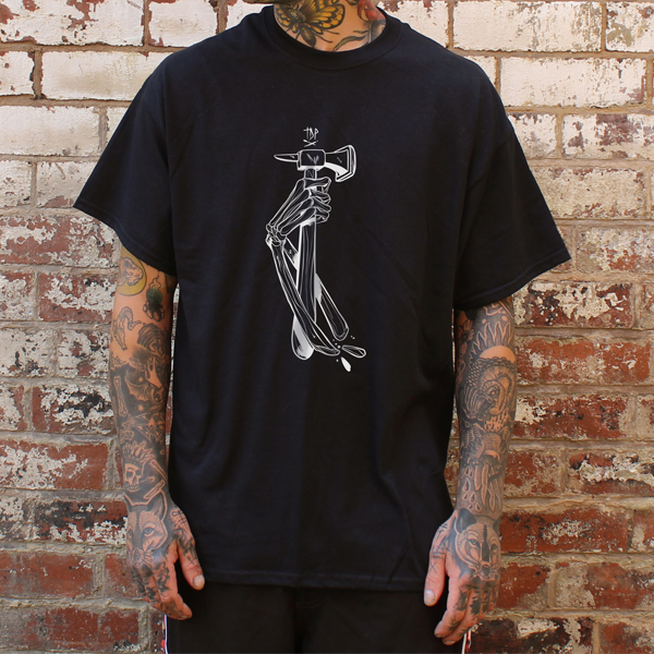 The Devil's Playground Black T-Shirt Front