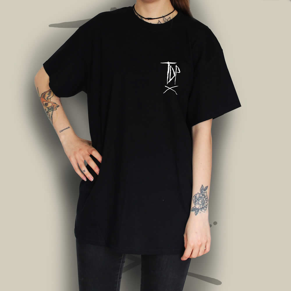 TDP Clothing Essential T-Black Shirt Logo Thumbnail