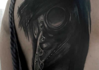 TDP Tattoos BloodGod Plague Doctor
