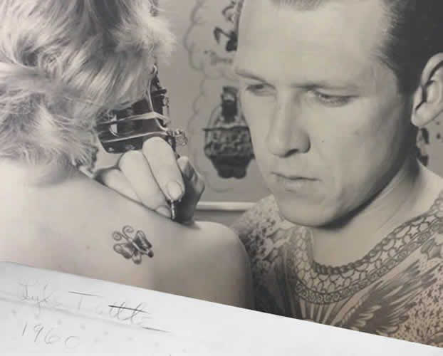 60s Fashion Origin - Lyle Tuttle Tattoo