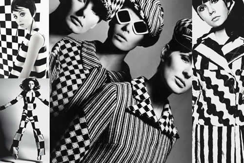 60s Fashion Origin - Optical Art