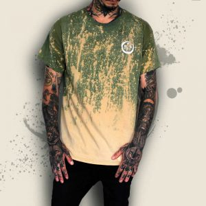 TDP Clothing Tie Dye Acid Moon Green T-Shirt