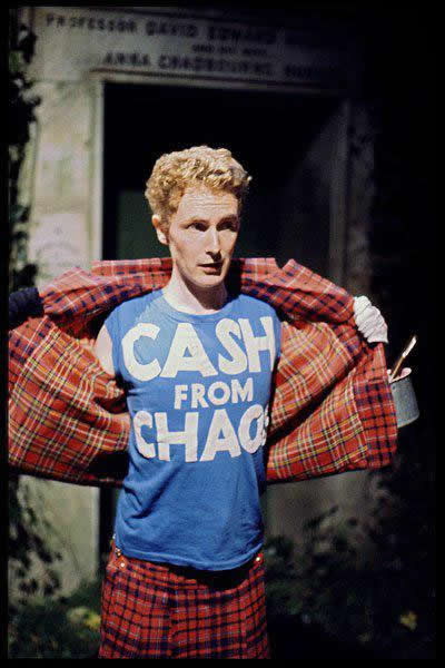 Malcolm Mclaren - Punk Fashion and Style