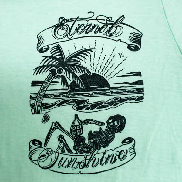 Eternal Sunshine Island T-Shirt Mint