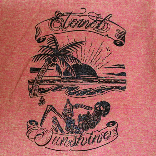 Eternal Sunshine Island T-Shirt Sunset