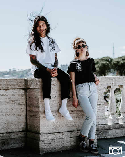 Rome Streetwear Clothing Photoshoot - Molotov T-Shirt