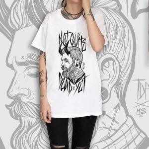 Gentleman White T-Shirt Women