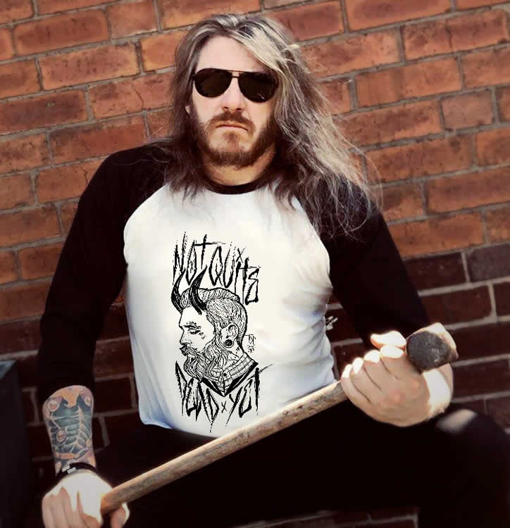 Tattooed Gentleman Raglan - My TDP Customer Gallery