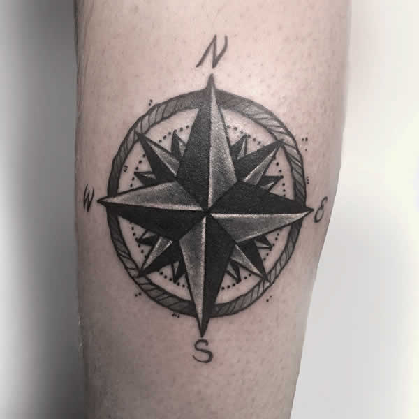 Compass Rose Tattoo Meaning