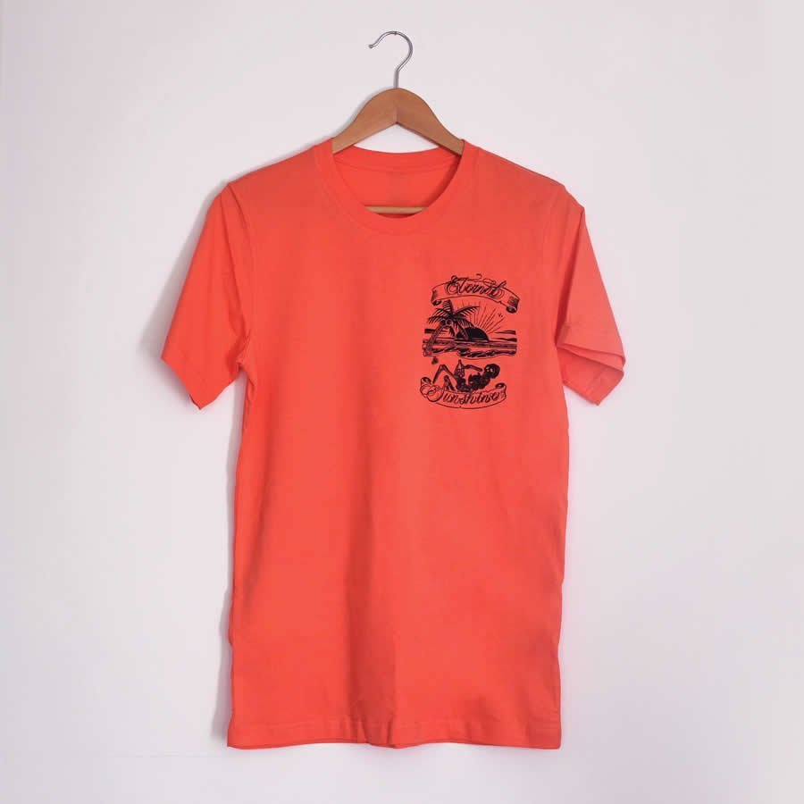 Eternal Sunshine Coral T-Shirt