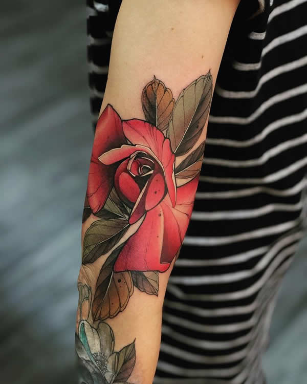 Rose Tattoo Meaning The Devils Playground Ltd