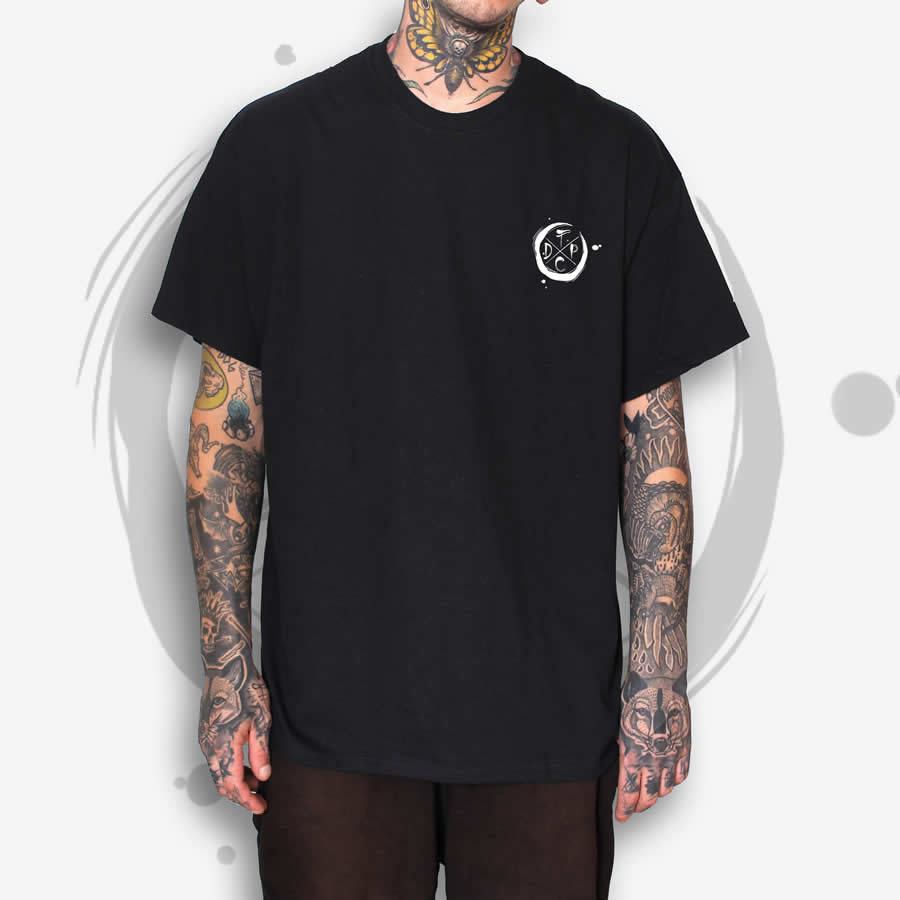 TDP Essential Moon Black T-Shirt Men