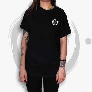 TDP Essential Moon Black T-Shirt Women