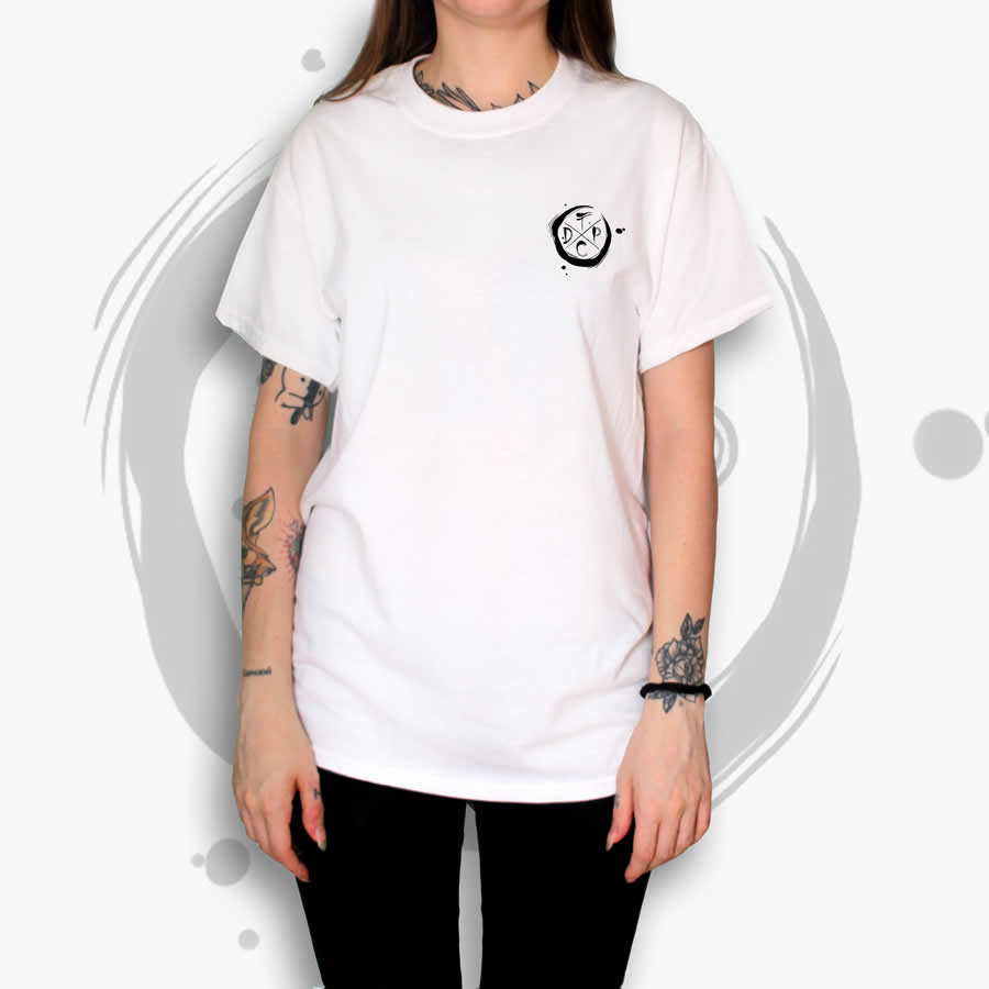 TDP Essential Moon White T-Shirt Woman