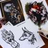 Neotraditional Tattoo Prints