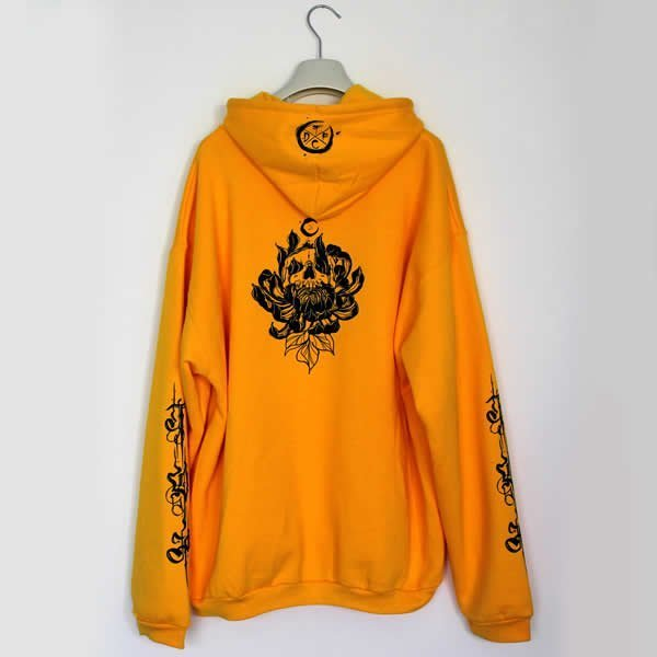 TDP Custom Tattoo Clothing - Yellow Hoodie
