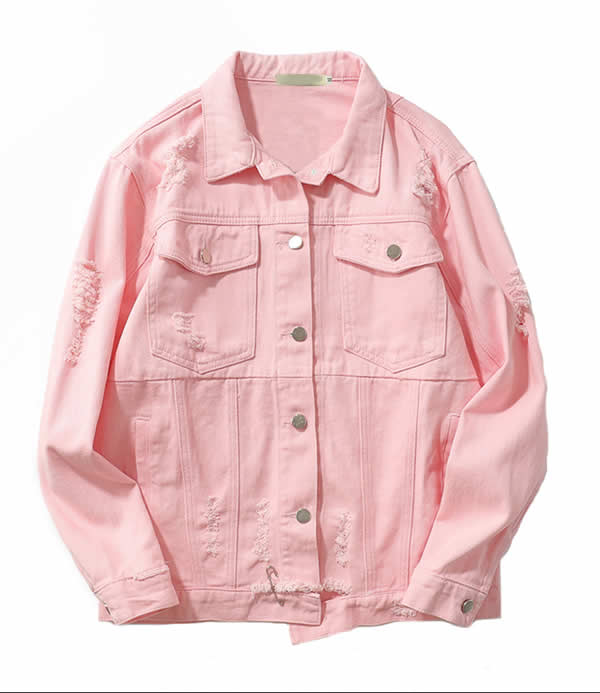 Pink Summer 2020 Fashion Trend - Pink Denim Jacket