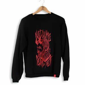 Red Gentleman Halloween Jumper