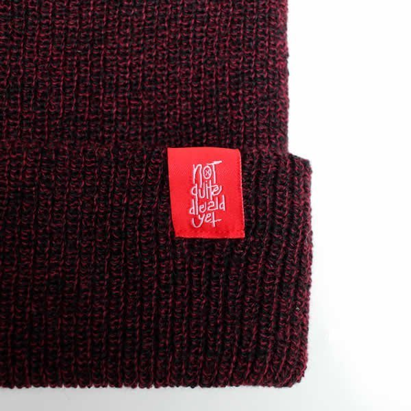 Burgundy Label Detail