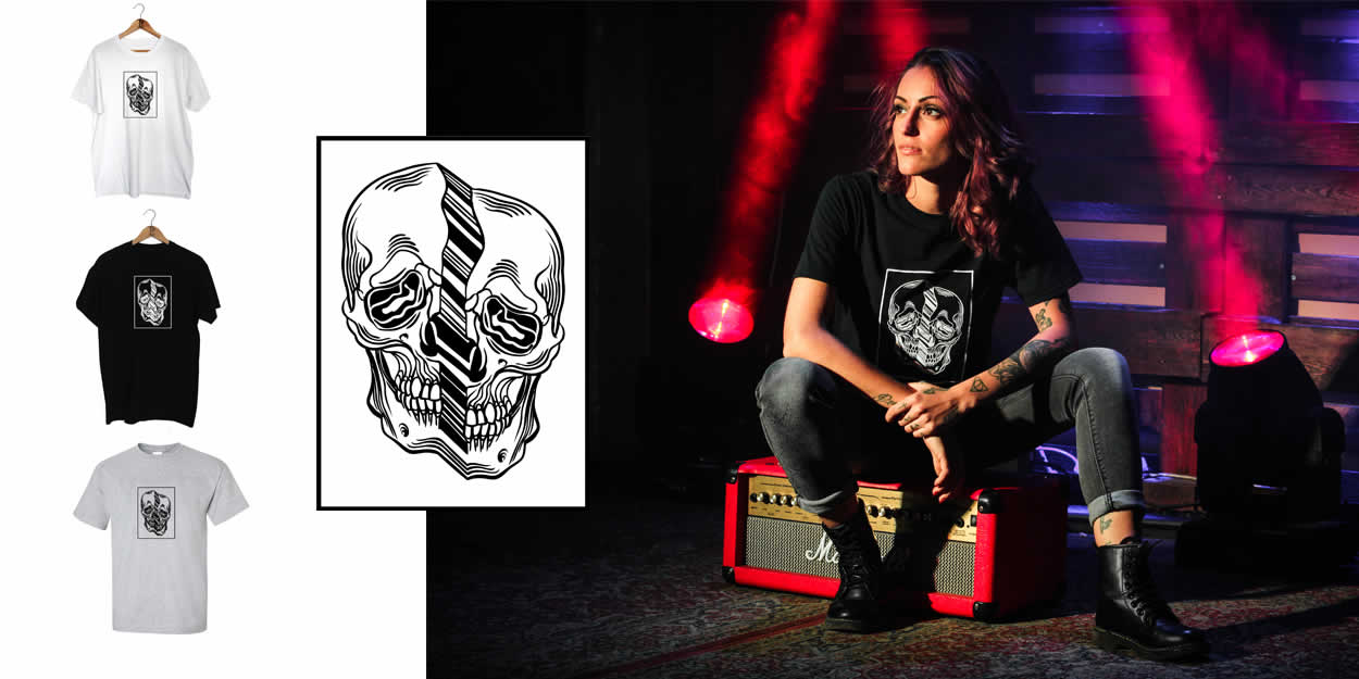 Distorted Skull Clothing Range