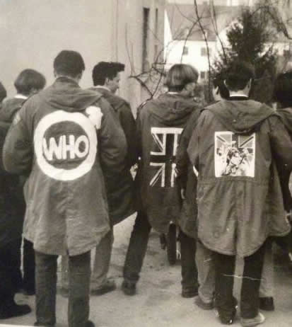 Mods and Rockers Styles and Fashion - Parka