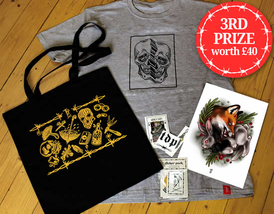 TDP Clothing 3rd Prize Raffle
