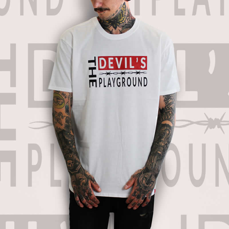 The Devils Playground White T-Shirt