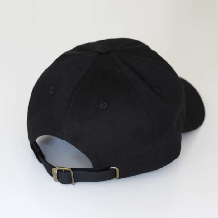 Black TDP Dad Cap 6 Panel