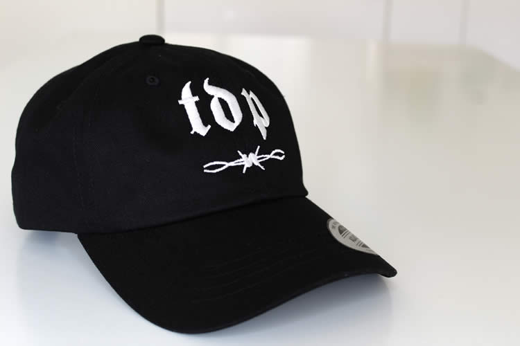Black TDP Dad Cap Embroided Logo