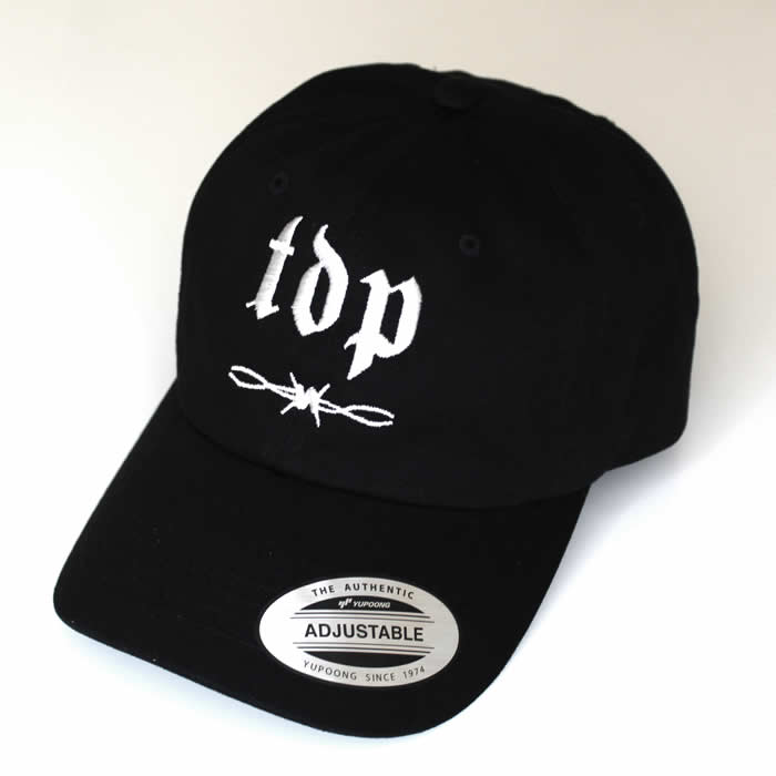 Black TDP Dad Cap