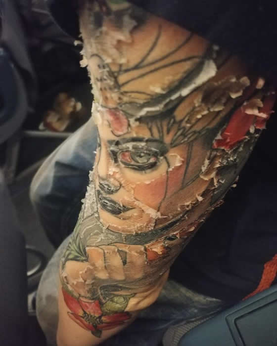 Taking Care of Your Tattoo - Dry Healing